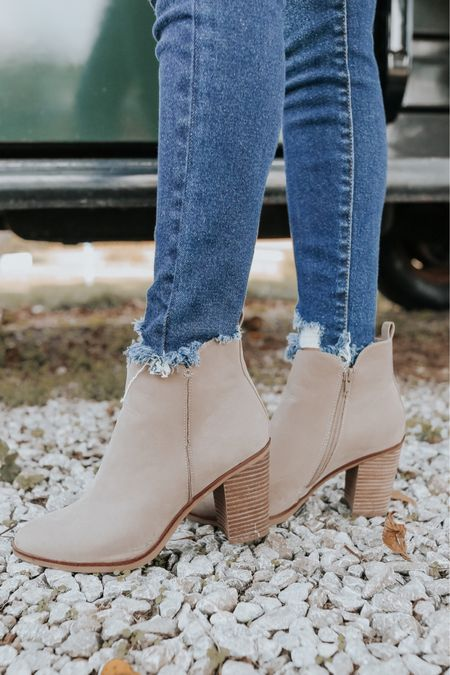 Perfect fall booties    Walmart home, target home, cleaning, clean home, dream home, under 50, daily deals, 5 stars, amazon finds, amazon deals, daily deals, deal of the day, dotd, bohemian, farmhouse decor, farmhouse, living room, master bedroom, booties, boots, fall outfit   💕Follow for more daily deals, home decor, and style inspiration 💕  #LTKshoecrush #LTKSeasonal #LTKstyletip