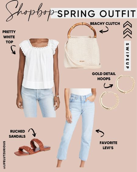 Shopbop Spring Outfit - Use code STYLE for discount! http://liketk.it/3cRCZ #liketkit @liketoknow.it #LTKsalealert #LTKstyletip #LTKshoecrush