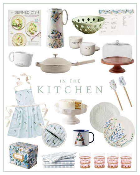 Today on the blog I'm sharing some kitchen finds including serveware, glassware, plates, cookbooks, pitchers and cake stands. Read the full post on ashleybrookedesigns.com.  #LTKunder100 #LTKhome #LTKunder50
