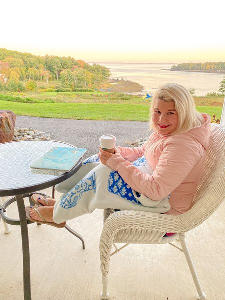 How New Englanders do outside in the cold months🤣  Chappy wrap blanket and a lulu jacket. Both would make amazing gifts this holiday season!   #LTKGiftGuide #LTKSeasonal #LTKHoliday