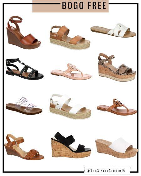 BUY ONE GET ONE FREE sandals!!!👏🏼👏🏼    http://liketk.it/3go4v @liketoknow.it #liketkit #LTKstyletip #LTKunder50 #LTKshoecrush
