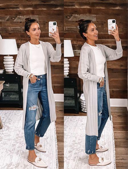 express finds - cardigan size s, jeans size 2 - bogo 50% off #anna_brstyle  #LTKsalealert