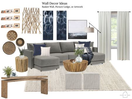 Earthy coastal family room design options !  #LTKhome