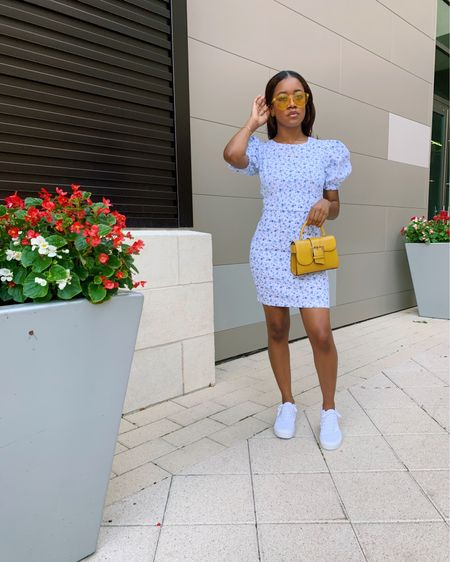 it's so obvious that I'm obsessed with the sneakers and dresses trend, especially for the summer. so I decided to bring it to the blog! details on this look plus much more is up on the blog now! I've even shared some of my personal fav sneaker/dress combo looks! check it out at sevendaysinstyle.com or click the link in my bio! http://liketk.it/2RtI5 #liketkit @liketoknow.it