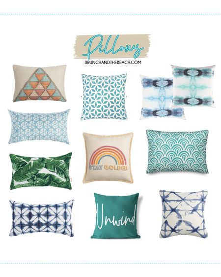 7 WAYS TO ELEVATE YOUR OUTDOOR SPACE: Pillows http://liketk.it/3e6IO   #liketkit @liketoknow.it #LTKhome #LTKunder50 #LTKunder100