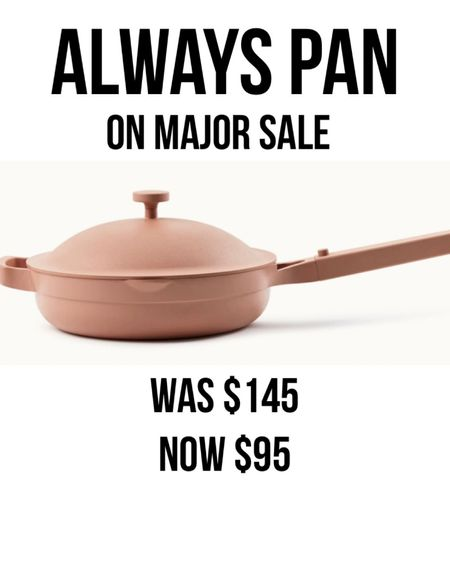 Always pan on major sale ✨ cookware ✨ kitchen essentials ✨ gift ideas ✨ gifts ✨ gifts for her ✨ kitchenware ✨ sale alert Shop my daily looks by following me on the LIKEtoKNOW.it shopping app http://liketk.it/31hZx #liketkit @liketoknow.it #LTKgiftspo #LTKsalealert #LTKhome #stayhomewithltk