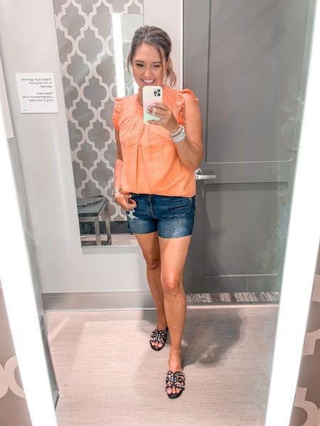 Summer tops. Tatget finds.   #LTKSeasonal #LTKunder50 #LTKshoecrush