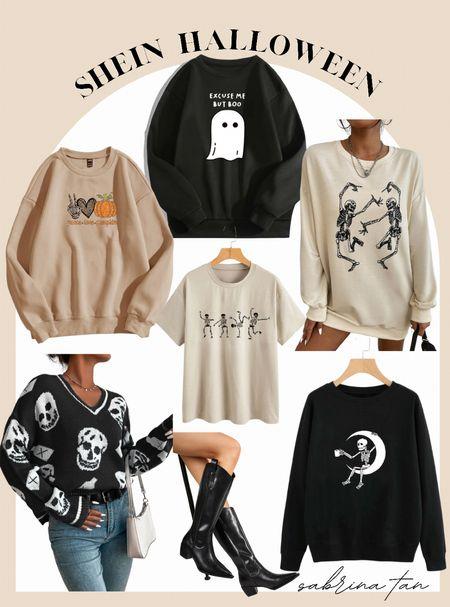 SheIn Halloween finds // amazon finds // Fall outfit   #LTKsalealert #LTKHoliday #LTKunder50