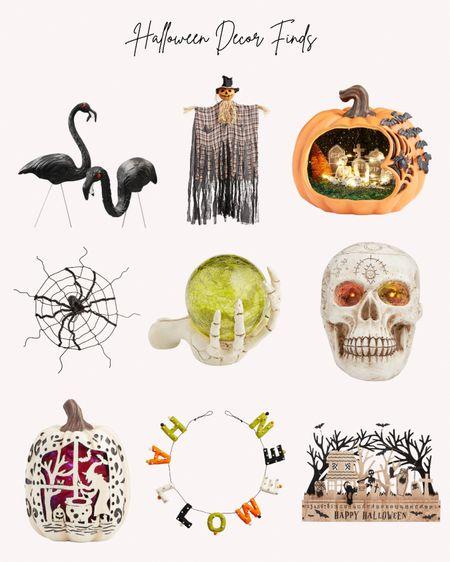 Halloween, decorations, world Market, skull, pumpkin, signs, cobweb, outdoor decorations   #LTKSeasonal #LTKfamily #LTKhome