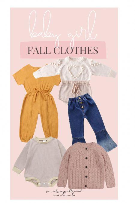 Amazon Fashion. Baby girl fall clothes   #LTKfamily #LTKkids #LTKbaby