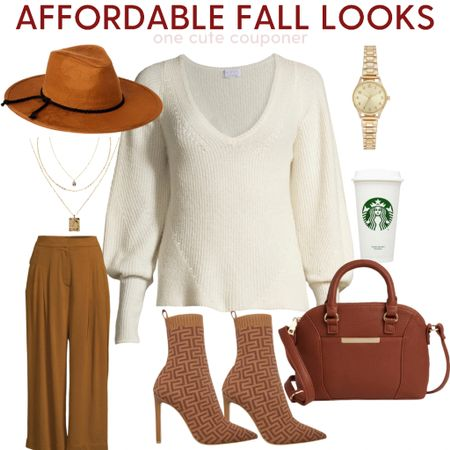 Check out these affordable Fall Fashion finds! Sweater weather is right around the corner, these boots, bags, pants, hats, and sweaters are The perfect way to jumpstart your autumn wardrobe.  #hat #handbag #collage #booties  #LTKsalealert #LTKunder100 #LTKstyletip