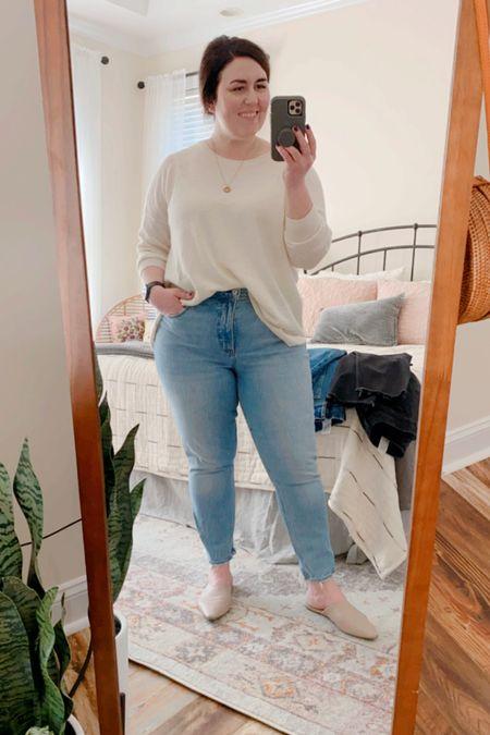 I LOVE the Abercrombie Curve Love jeans.  25% off!  #LTKSale #LTKfit
