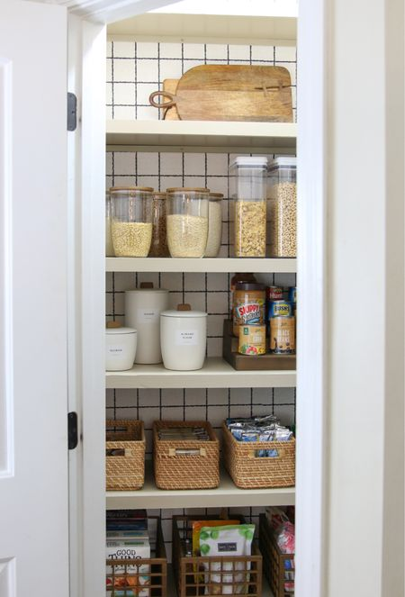 I'm loving the Marie Kondo line for The Container Store! Pantry organization, kitchen organization, food storage   #LTKhome #LTKunder50