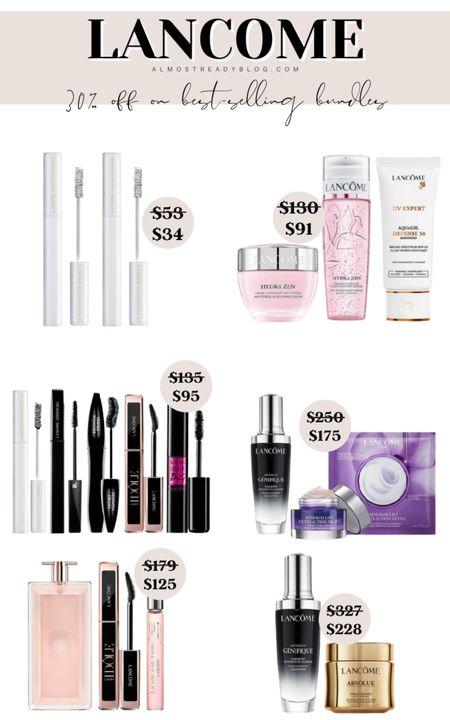 Lancome save 30% iff on best selling bundles http://liketk.it/3nJNi @liketoknow.it #liketkit #LTKsalealert #LTKbeauty