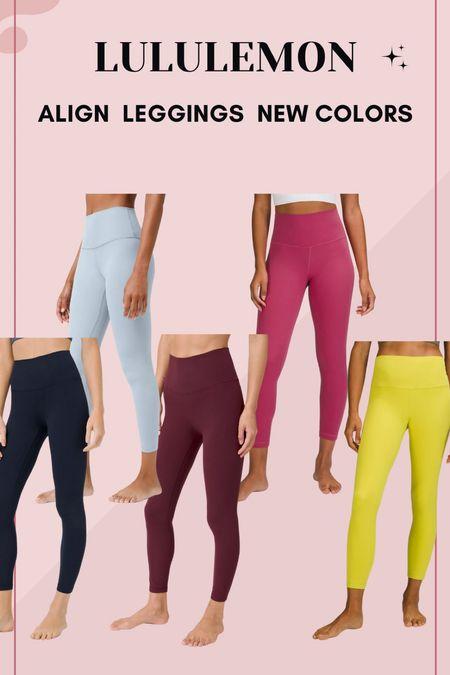 New lululemon align colorways!