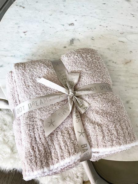 Barefoot dreams blankets on sale! Gift idea!   #LTKSeasonal #LTKHoliday #LTKGiftGuide