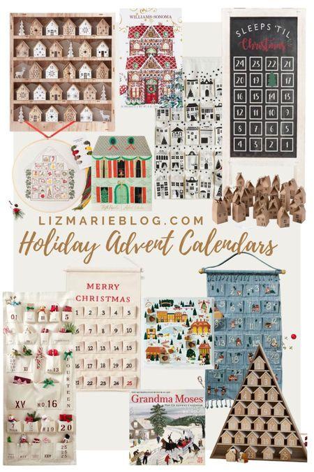 Over on LizMarieBlog.com I rounded up 40+ advent calendars! Here are some of them!  #LTKGiftGuide #LTKHoliday #LTKSeasonal