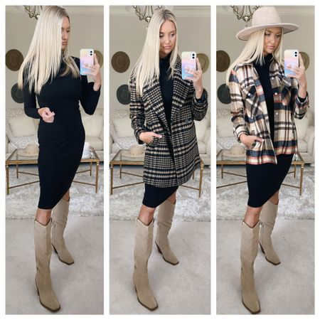 Went to the movies with the kids this afternoon to see Boss Baby 💙 The movie was decent but it was so fun to get popcorn and hang with my babies 🤍 Tomorrow ALL Nordstrom cardholders are able to shop! I wanted to share an #Nsale dress mostly fully in stock styles 3 ways and one plaid Shirt Jacket mostly fully in stock styled 3 ways in case you are shopping the sale tomorrow 🖤 Everything linked at the link in my bio or in the @liketoknow.it app http://liketk.it/3jOzf #liketkit #LTKsalealert #LTKshoecrush #LTKunder100
