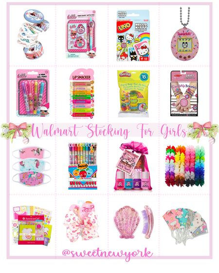 Walmart finds gift guide stocking stuffers for girls http://liketk.it/31lJv #liketkit @liketoknow.it #LTKgiftspo #LTKfamily #LTKkids