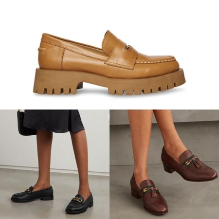 Chunky loafers are one of autumn-winter 2021's top shoes trend! #musthave   #LTKshoecrush #LTKSeasonal #LTKstyletip