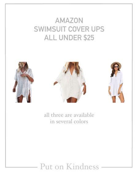 Amazon swimsuit cover up. Women's coverup. @liketoknow.it http://liketk.it/3ipav #liketkit