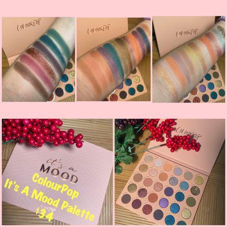 New ColourPop It's A Mood Eyeshadow Palette!  #steffsbeautystash  #LTKunder50 #LTKsalealert #LTKbeauty