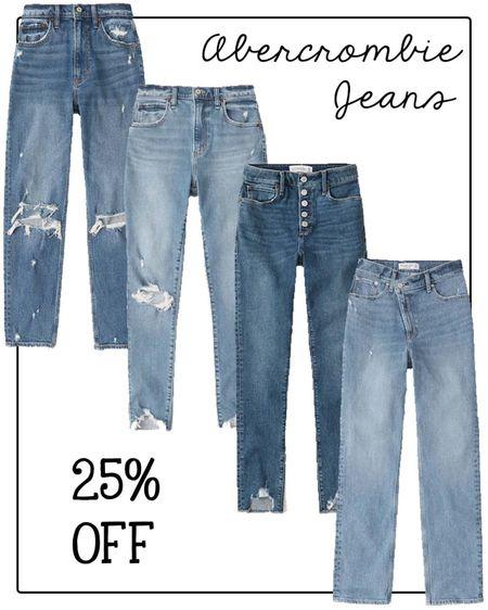 Abercrombie jeans 25% off   #LTKsalealert #LTKunder100 #LTKSale