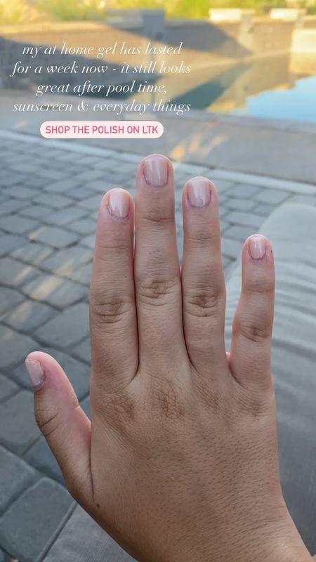 everything you need for an at home gel mani   #LTKbeauty #LTKSeasonal #LTKunder50