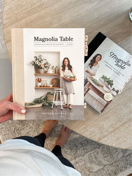 Magnolia table cook books would be a great gift idea for your mom or mother in law. My mom gifted it to me last year and we love it!   #LTKGiftGuide