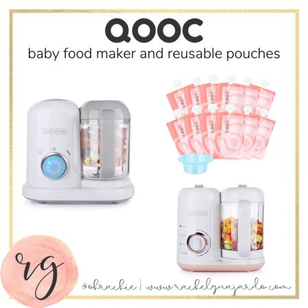 Mom hack! Get these reusable baby food pouches. You can put anything in here! We like to do yogurt and applesauce. ☺️ #LTKbaby #LTKgiftspo #LTKunder100 #liketkit @liketoknow.it http://liketk.it/3173j