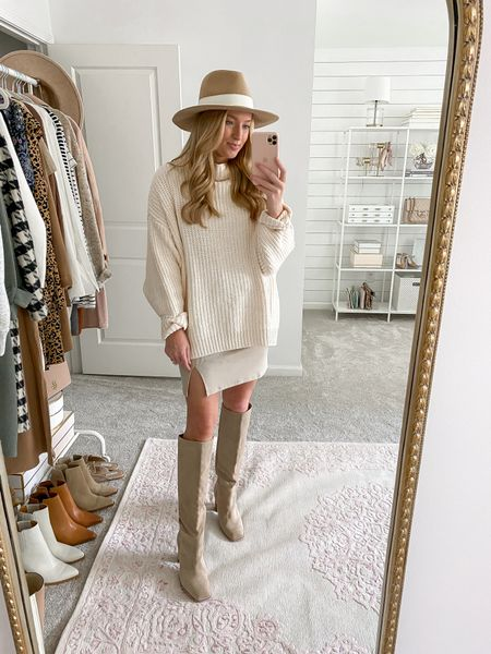 Neutral outfit in the Nordstrom Anniversary Sale