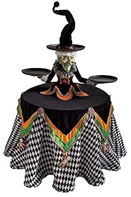 Witch cake stand under $25   #halloween #halloweendecor  #LTKhome #LTKSeasonal #LTKunder50