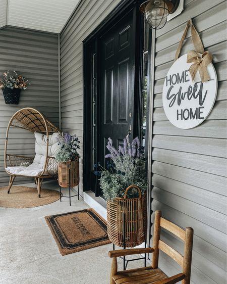 Front porch decor http://liketk.it/3igLC #liketkit @liketoknow.it #LTKhome #LTKstyletip #LTKsalealert @liketoknow.it.home You can instantly shop my looks by following me on the LIKEtoKNOW.it shopping app