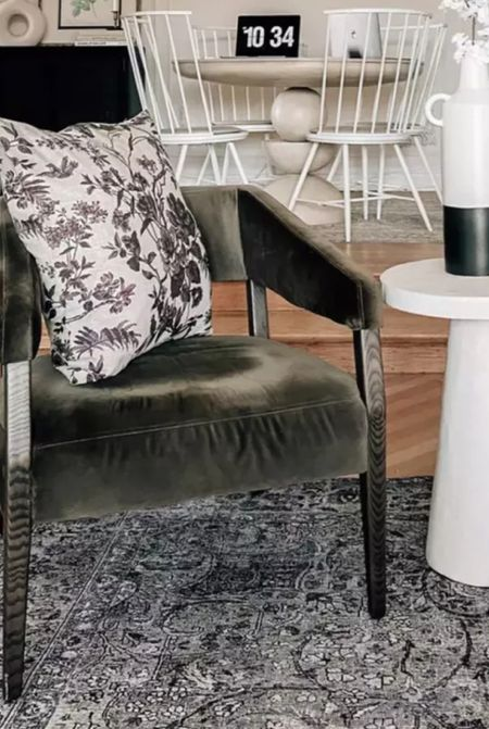 Accent chair and throw pillow, living room furniture, home decor and more    #LTKhome #LTKsalealert