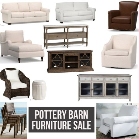 Pottery Barn Furniture Sale! Up to 25% off! Tons of options for both indoor and outdoor- links in LIKEtoKNOW.it  #potterybarn #sale #salealert #furniture #furnituresale #couch #sectional #leatherchair #table #homedecor #homesale #home #livingroom #homeinspo #LTKsalealert #LTKhome #LTKDay @liketoknow.it #liketkit http://liketk.it/2RJMB