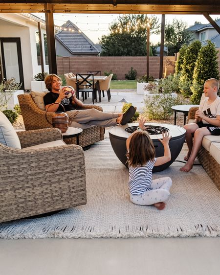 Shop my new outdoor rug today! I linked what I could from our amazing space!  http://liketk.it/3ijva @liketoknow.it #liketkit @liketoknow.it.home @liketoknow.it.family #LTKhome #LTKfamily