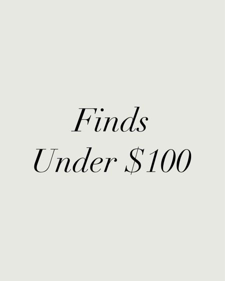 Finds under $100 🤍 http://liketk.it/3i2gu #liketkit @liketoknow.it