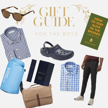 Gift Guide for Men // gifts for him, husband, boyfriend, boys, http://liketk.it/31suE  from Peter Millar , crocs, cooler, working bags, and leather goods. I also love these men's sunglasses by Warby Parker http://liketk.it/31stH #liketkit @liketoknow.it #LTKgiftspo #LTKmens #LTKunder100 @liketoknow.it.brasil @liketoknow.it.europe @liketoknow.it.family @liketoknow.it.home Shop your screenshot of this pic with the LIKEtoKNOW.it shopping app