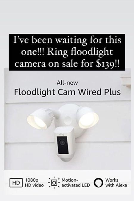 Ring floodlight camera on sale amazon prime day http://liketk.it/3iaU1 #liketkit @liketoknow.it #LTKsalealert #LTKhome