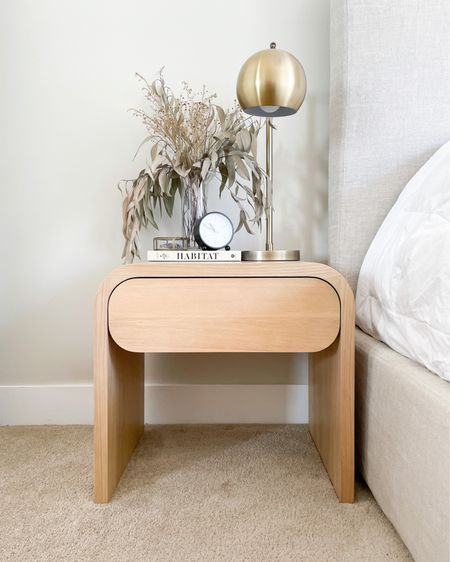 I finally upgraded my nightstands to these beauties! Love the modern, curved lines...and the soft-close drawer!  http://liketk.it/3dkJ7 #liketkit @liketoknow.it