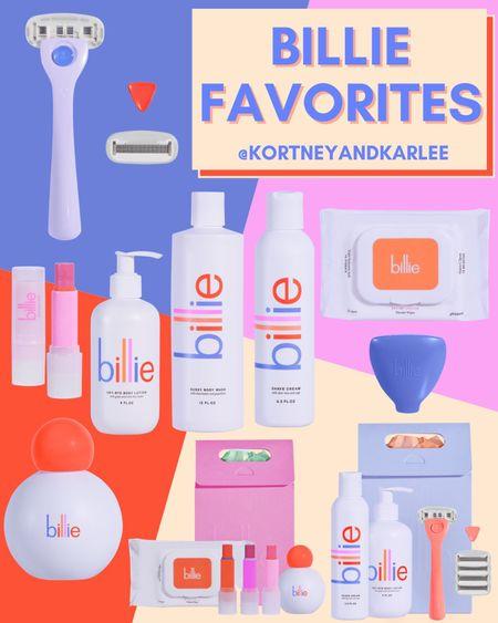Billie Razor Favorites!  Billie razor starter kit | billie razor | billie favorites | Billie starter kit | razor starter kit | razor travel case | makeup wipes | billie wonder wipes | billie lip balm | billie body wash | billie lotion | billie shave cream | billie dry shampoo | Kortney and Karlee | #kortneyandkarlee @liketoknow.it #liketkit   #LTKunder50 #LTKunder100 #LTKsalealert #LTKstyletip #LTKSeasonal #LTKtravel #LTKswim #LTKbeauty #LTKhome