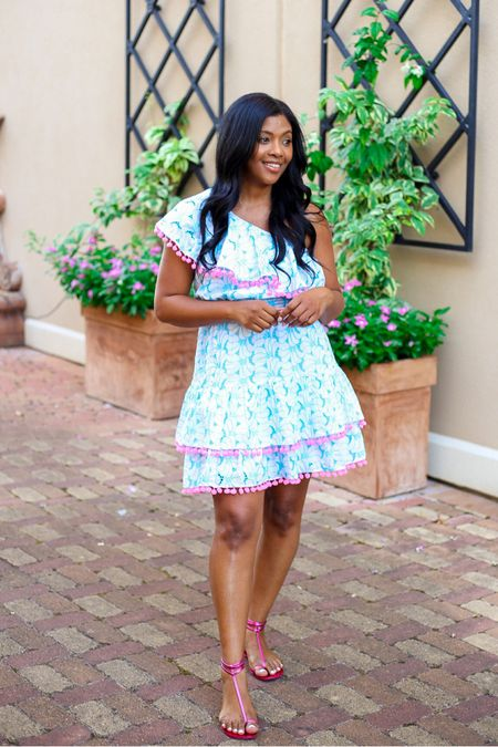 Fun dresses with fun detail….yes yesssss! Loving this little number from @lilly Pulitzer! I'm wearing a M but could have got a small. I'd say it runs a little big at the top especially.   #LTKstyletip #LTKtravel #LTKshoecrush