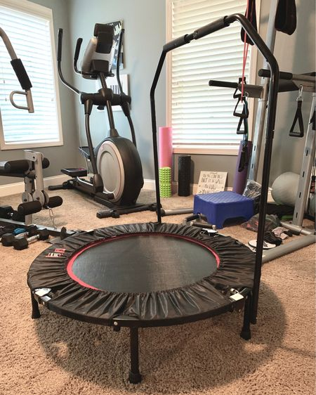 I've been using this rebounder for weight loss. It comes with a workout dvd that gives you a great low impact workout. Whew!! http://liketk.it/2G5i3 #liketkit @liketoknow.it