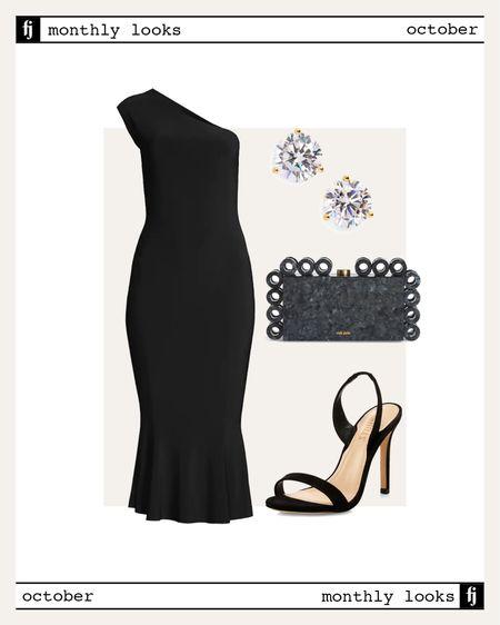 October fall outfit idea #falloutfits #weddingguest   #LTKstyletip #LTKunder100 #LTKwedding