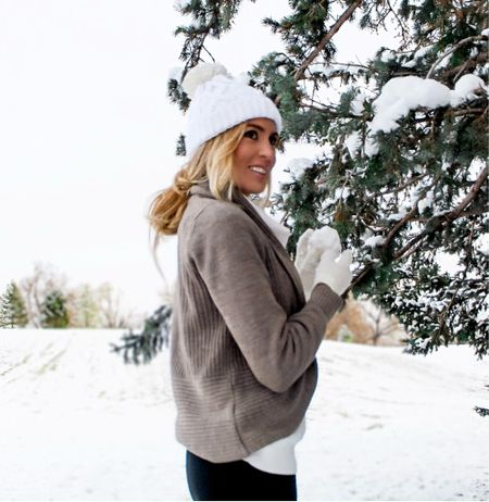 We are getting our first bit of snow today! I am half excited half not ready lol.   #LTKSeasonal #LTKGiftGuide #LTKHoliday