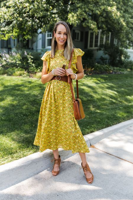 Yellow maxi dress perfect for a baby shower or engagement party   #LTKSeasonal #LTKstyletip