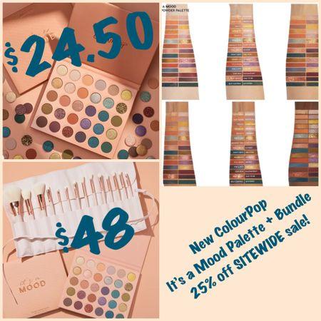 NEW ColourPop It's a Mood Palette + Mega Mood Bundle available NOW!  #steffsbeautystash   #LTKsalealert #LTKunder50 #LTKbeauty