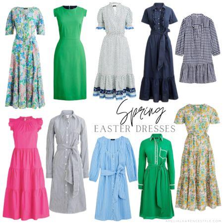 Spring dresses just in time for Easter! Spring dresses, Easter dress, spring     #LTKSeasonal #LTKbeauty #LTKstyletip