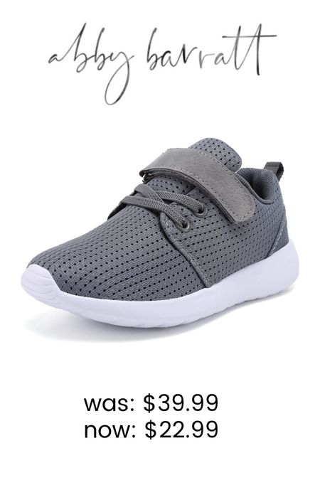 These are my favorite tennis shoes to buy for Owen! With how quickly he is growing out of shoes, I love the price point and they hold up soooo well!! Great buy for back to school and currently on sale!   #LTKsalealert #LTKfamily #LTKkids