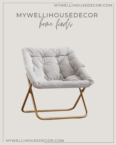 Pottery Barn Warehouse sale! Up to 70% off! This chair is perfect for your teens bedroom and is only $90  #LTKhome #LTKSale #LTKsalealert